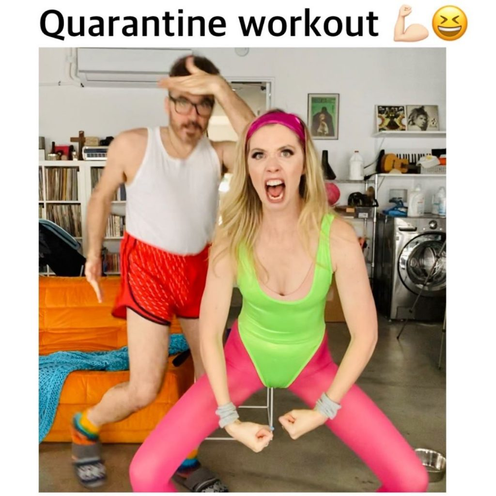 Quarantine Workout 💪🏻😂