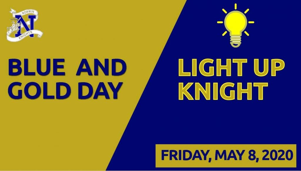 """Join """"Light Up Knight"""" to celebrate and honor our #NorwinStrong students. We are enc…"""
