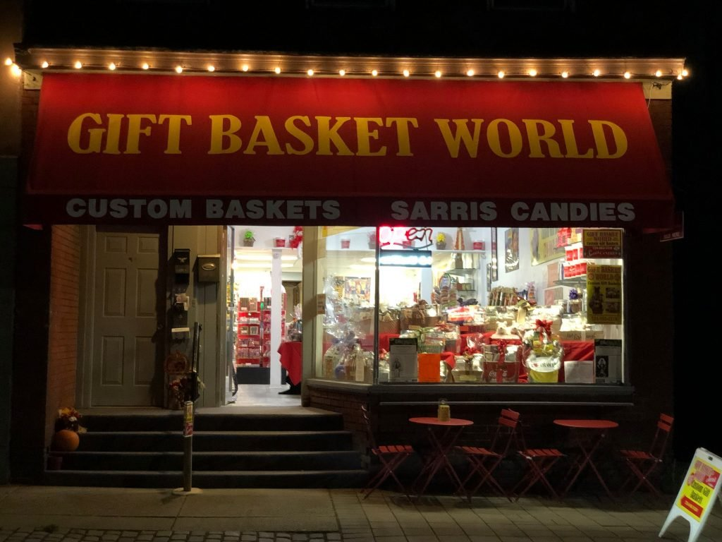 Our Store , GIFT BASKET WORLD & SARRIS Candy Shop has moved to downtown…