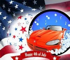 HAVE AN ENJOYABLE & SAFE 4TH OF JULY !