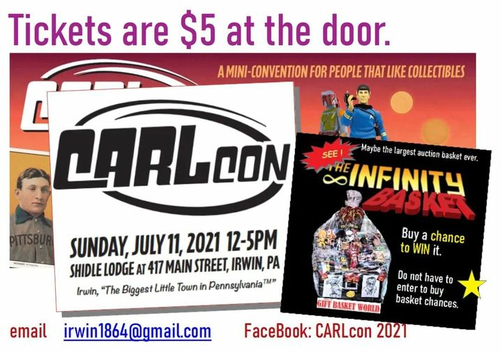 Cool event this Sunday !  And win one of our largest baskets ever !